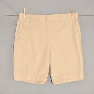 THEORY Stretch Cotton Khaki Chino Shorts